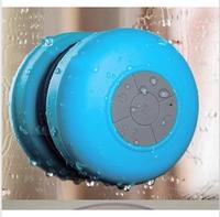 Free shipping Waterproof bts-06 bathroom waterproof bluetooth speaker car speaker suction cup bluetooth audio