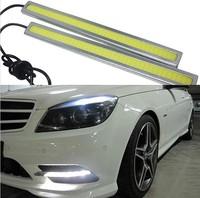 17cm COB LED car day time running light lamp led drl lamp for car 2pcs