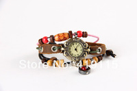 High Quality Quartz Watch For Women Leather Jewelry Watches Gift Hour Clock New 2014
