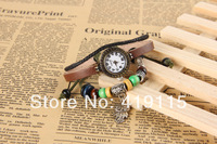Novelty Jewelry Bangle Bracelet Women Ladies Woman Wrist Watches Gift watch Owl Charms Pendant