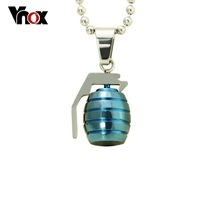 Cool necklaces pendants stainless steel  weapon pendants jewelry for men  free chain 24 inch