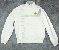 Sports sergio tacchini spring and autumn outerwear sports top tennis jacket