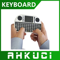 Mini 2.4GHz Wireless Russian/English Keyboard 92 Keys with Touchpad Mouse Keypad Combo Remote Control for PC Andriod TV Box