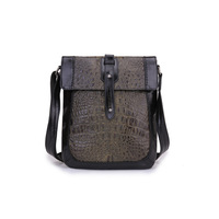 2014 vintage male header layer of leather shoulder bag
