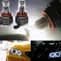 H8 led cree 80W Led fog light lamp For BMW X5 E70 X6 E71 E90 E91 E92 M3 E60 E93 H8 80W CREE LED angle eyes,CREE LED marker light