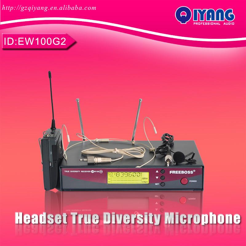 Wireless microphone transmitter karaoke dj equipment ew100g2