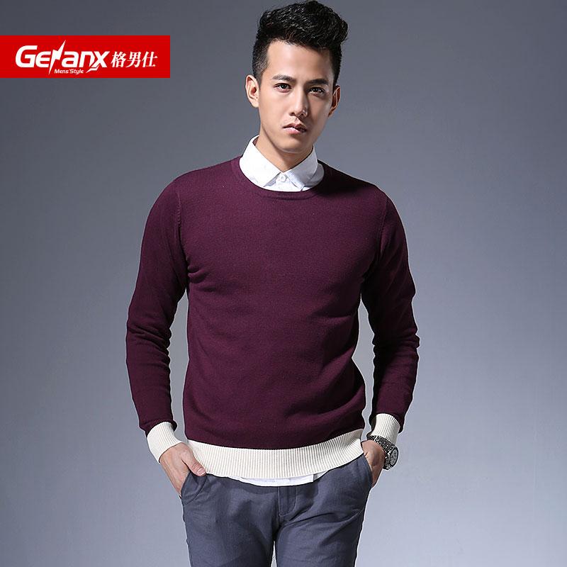 Мужской пуловер o