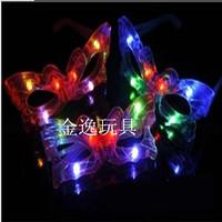 Shiny butterfly glasses led glasses ktv toy