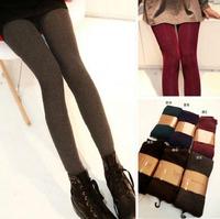 Hot-selling 2014 thermal thickening brushed pantyhose legging stockings legging