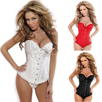 hotsell 2014 Western fashion lady women sexy corselet Shape Underwear 5color 9size can choose