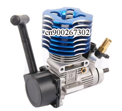 HSP 02060 Blue VX 18 Engine 2.74cc Pull Starter RC 1:10 Nitro Car Buggy EG630(China (Mainland))