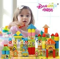 160pcs/lot High quality export Kids Blocks Toy Safe & Eco-Friendly