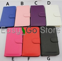 50pcs PU Leather Wallet ID Card Holder Case Cover For Samsung Galaxy Note 3 N9000,DHL Free Shipping