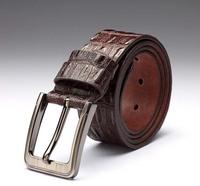Blt0017 2014  Men Fashion Belt Top Quality Genuine Crocodile Leather Alloy Buckle Gentalman's  All-match Belts