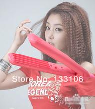 FREE SHIPPING Mini Pink Electronic Hair Wavy hair curlers Get EU/US/UK Plug SS-768j(China (Mainland))