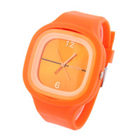 Unisex Ss.com Sports Watch Candy Color  Fashion Casual Watches Silicone Strap Analog Quartz 2014