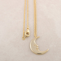 Fashion Jewelry half moon Pendant Necklaces for women wholesale 10 pce/lot free shipping