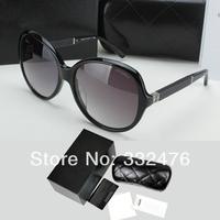 Hot Sale 2014 Fashion sun glasses women brand designer gilded leather frame sunglasses vintage women oculos de sol