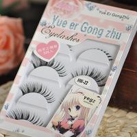 new 2014 high quality lashes false eyelashes princess false eyelashes eyelash combination natural eyelashes