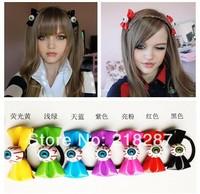 Free Shipping 2014 New 20pcs/lot Women Hair Ties Halloween Evil Eye Bowknot Design Hair Bands Elastic Hair Ropes
