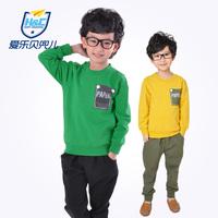 Boys clothing set 2014 child spring sweatshirt set spring clothes children's clothing sports casual clothing
