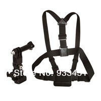 Camera Adjustment Elastic Body Chest Strap Mount Belt for GoPro HD Hero 2 Hero 3