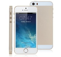 hot i5 5S 1:1 ROM 8GB/16GB/ 4 inch android 4.2 MTK6572 Smart Phone Micro SIM Single Card Free shipping