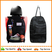 Free shipment 3pcs per lot box packing Car Auto Multi-Pocket Hold Bag Back Seat Hanging Organizer Collector Storage 3 color