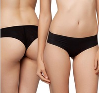 HOT 2014 New Women 100%Cotton Panties Sexy Low Waist Briefs Plus Size Seamless Underwear S M L XL Free Shipping S1416