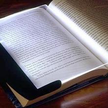 LED Light wedge Panel Book Reading Lamp Paperback Night#1715(China (Mainland))