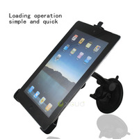 Free shipping,Universal 360 degree spin car pad holder for Apple iPad2, car Mount Holder for iPad2