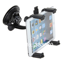 360 Rotatable Universal Car Cradle Mount Holder Windshield For Ipad 1/2/3 For HTC Flyer For Samsung Tab 3 Note 8.0 Note 10.1