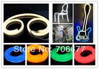 20m/roll/box 220V 230V 240V high voltage waterproof IP65 Milky Cover Cool White LED Neon Light