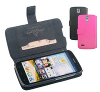 High quality flip leather case for HuaWei G610S,100% Real Doormoon cowhide leather cover,Free screen Film