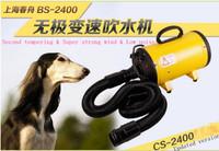 new version Chunzhou BS-2400W pet blower dog dryer