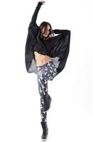 Free shipping Black galaxy milk leggings cross print legging plus size hot-selling