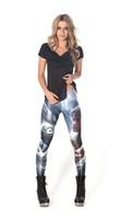 Free shipping Black galaxy milk women's legging leggings pithecanthrope hot-selling