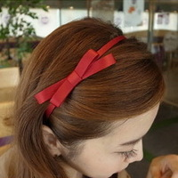 hair accessories headdress simple ribbon bow hair bands-----order>10usd