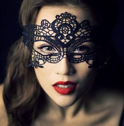 Mascarar delicado mascarada oco rendas máscara Sexy partido slipknot negro véu RPG vara nova 2014 carnaval máscara veneziana(China (Mainland))