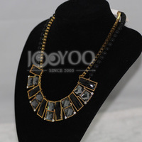 #620 2014 Newest Fashion Statement Chain Chocker Necklace For Women Charms Free Shipping 3pcs/lot