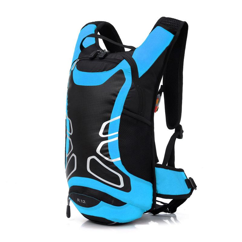 12L Waterproof Nylon Backpack Ultralight Outdoor Bicycle Cycling Bike Backpacks Travel Mountaineering Bag X191(China (Mainland))