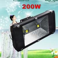 New Design!Free Shipping! led flood lights 200W 160W 140W 120W 100W High Power AC85-265V Floodlight Outdoor Gardon Lamp