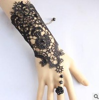 Free shipping / The bride gloves lace bracelet wedding accessories hand act the role ofing is tasted