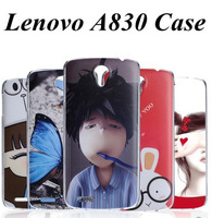 19 Species ImagesTtransparent Side Cover Case for Lenovo A830 case Lenovo A830 cover with Screen Protector