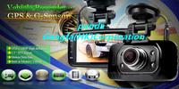Free shipping GS8000L FHD 1080P 4 IR LEDs Night Vision 170 Degree Wide Angle Lens GPS G-Sensor Car DVR