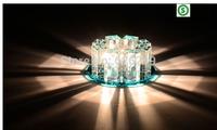 Led crystal ceiling light Aisle/entrance/ kitchen/ hallway lights corridor lighting balcony lamp Luminaire Free shipping