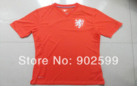 AAA+ 14/15 Netherlands home orange SS best quality Match player version soccer football jersey, Netherlands National team jersey