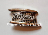 Fashion triumph belt buckle with pewter finish JF-B1008 suitable for 4cm wideth belt with continous stock