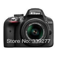 Nikon D3300 Kit (18-55 VR II) Black