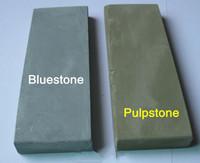 2pcs/Lot Ultra-small natural bluestone&pulstone Sharpeners stone terrazzo fine grinding 1500~2000# Free Shipping